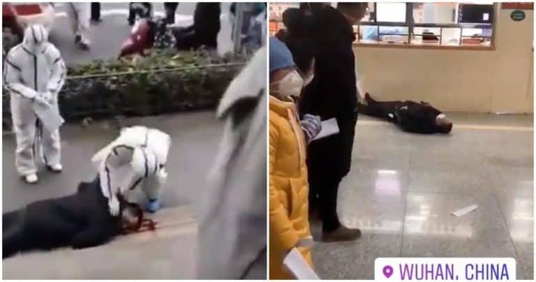 Beredar Video Diduga Korban Virus Corona Berjatuhan di Jalanan