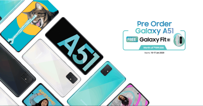 pre-order Galaxy A51