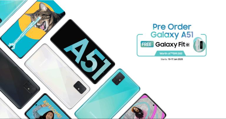 Jangan Terlewat! Samsung Buka Pre-order Galaxy A51