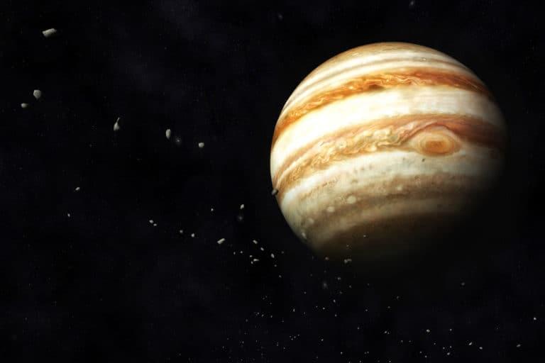 """Studi: Jupiter Lemparkan Komet untuk """"Ancam"""" Bumi"""