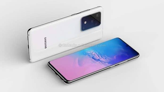 Spek Samsung Galaxy S20