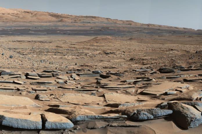 pH Air Mars