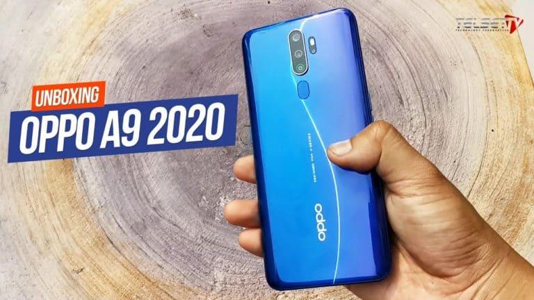 Oppo A9 2020 Unboxing: Rp 3,99 Juta Punya Lima Kamera!