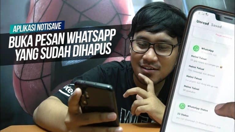 Cara Melihat Pesan Whatsapp yang Sudah Dihapus   Whatsapp Tricks