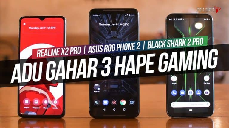 Gaming Test: Realme X2 Pro vs ROG Phone 2 vs Blackshark 2 Pro