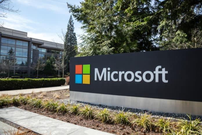 Karyawan Microsoft WFH