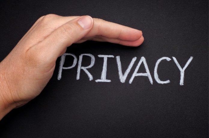 menjaga privasi data