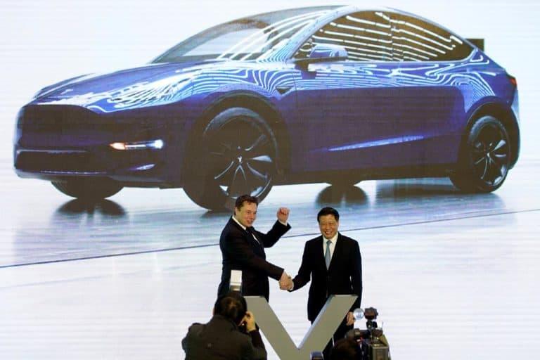 Tesla SUV Model Y Mulai Produksi di Pabrik Shanghai