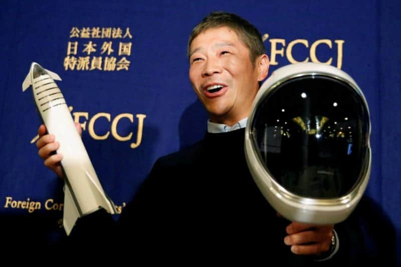 Miliarder Jepang Yusaku Maezawa Plesir ke Bulan