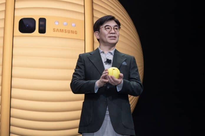 Robot Ballie Samsung