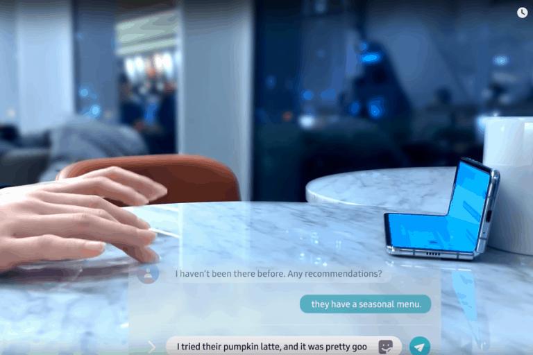 "Selfie Type, ""Keyboard Ghoib"" ala Samsung Nongol di CES 2020"