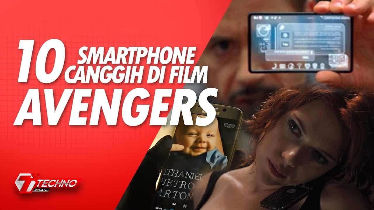 10 Smartphone Canggih di Film Avengers