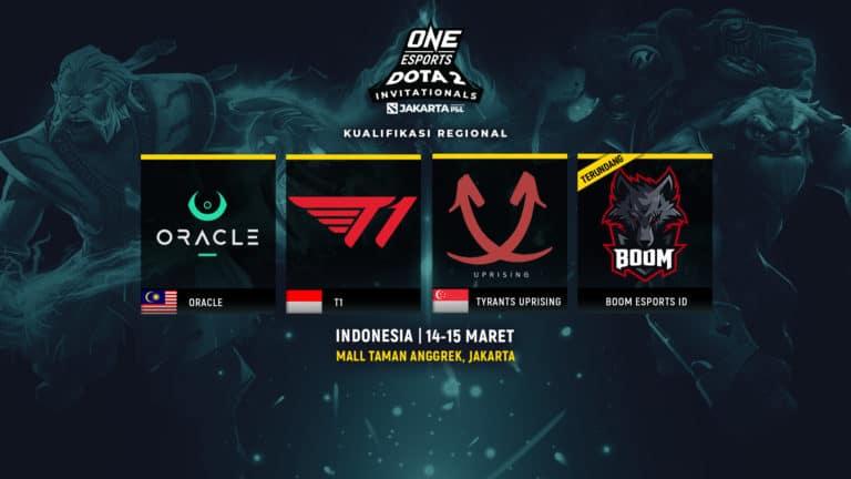 Siap-siap! Kualifikasi ONE Esports Dota 2 Jakarta Segera Dimulai