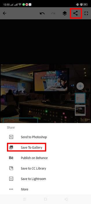 watermark foto smartphone adobe Photoshop Mix