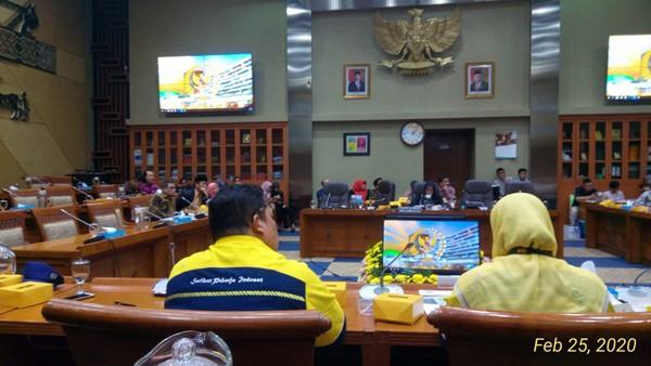 SP Indosat DPR RI