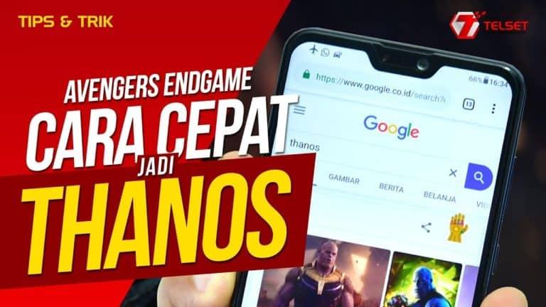 Avengers Endgame: Cara Cepat Jadi Thanos