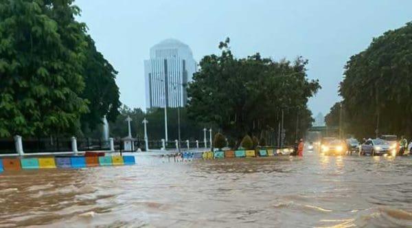 #banjir Jakarta