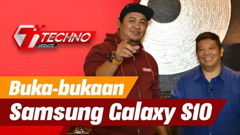 Buka-bukaan Samsung Galaxy S10