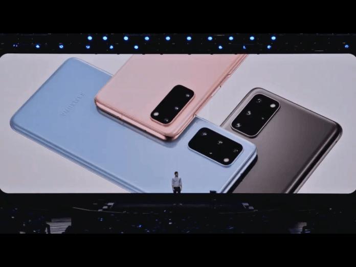 Galaxy S20 diluncurkan
