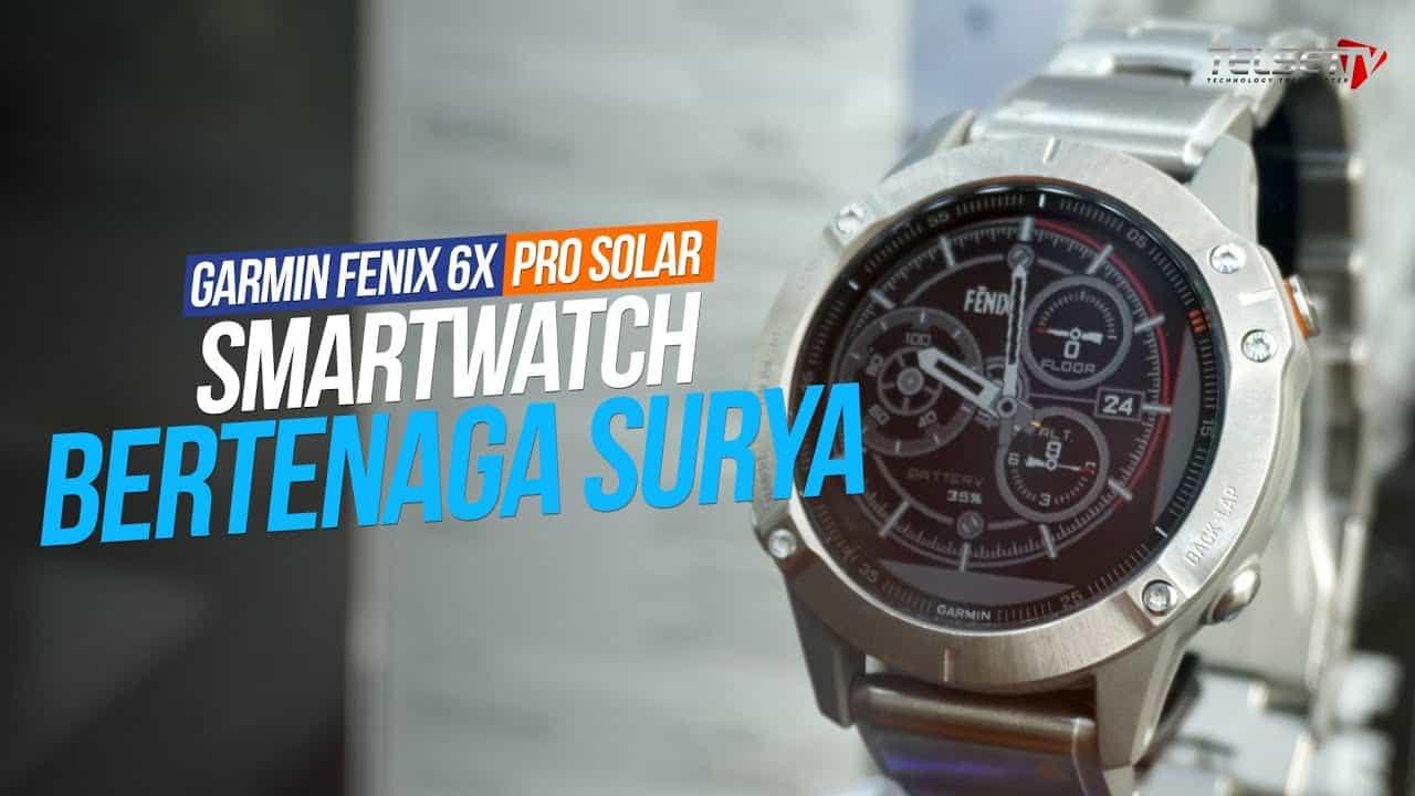 GARMIN FENIX 6X PRO SOLAR | Smartwatch Bertenaga Surya