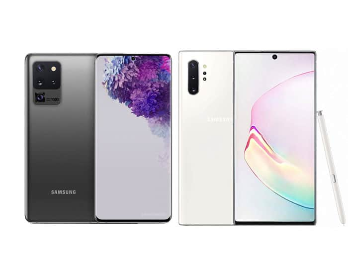 Samsung Galaxy S20 Ultra vs Galaxy Note 10+, S Pen jadi Pembeda