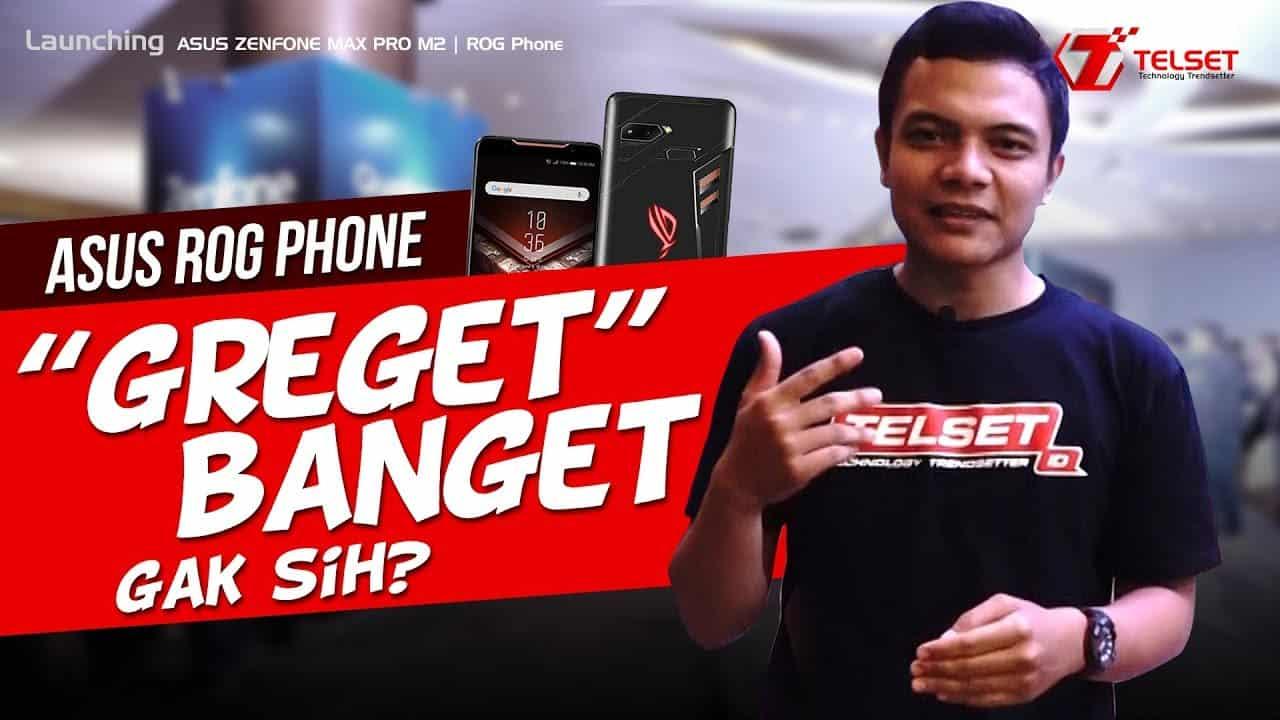HANDS ON ASUS ROG Phone dan Zenfone Max Pro M2