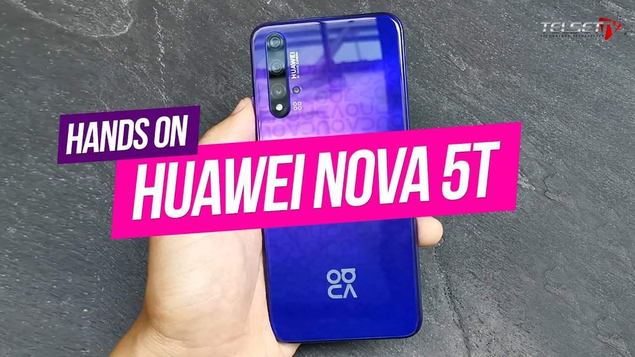 "HUAWEI NOVA 5T HANDS ON | ""P30 Pro"" Harga Rp6.8 Juta"