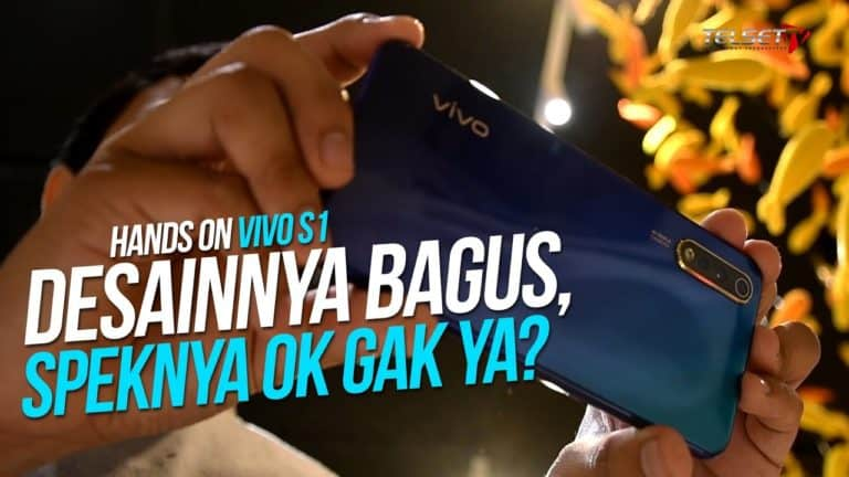 Hands on VIVO S1: Desainnya Bagus, Speknya OK Gak Ya?