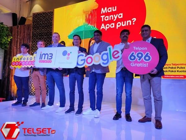 Indosat Google Assistant