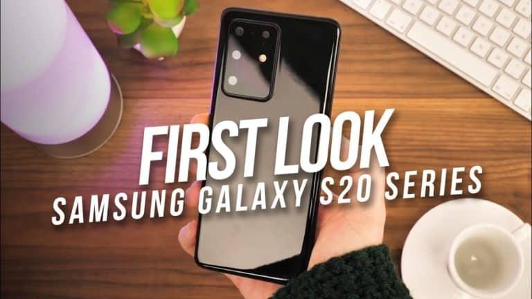 Samsung Galaxy S20 First Look: Kameranya Bisa Nge-Zoom Bulan?