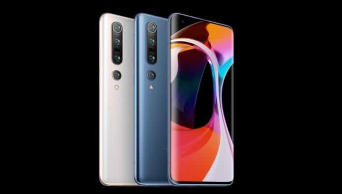 Debut Xiaomi Mi 10