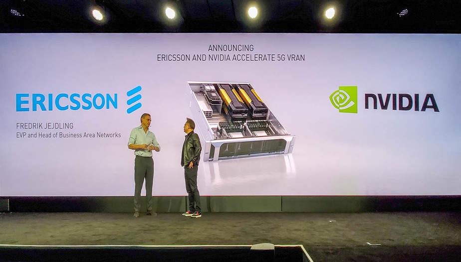 Nvidia Ericsson MWC 2020