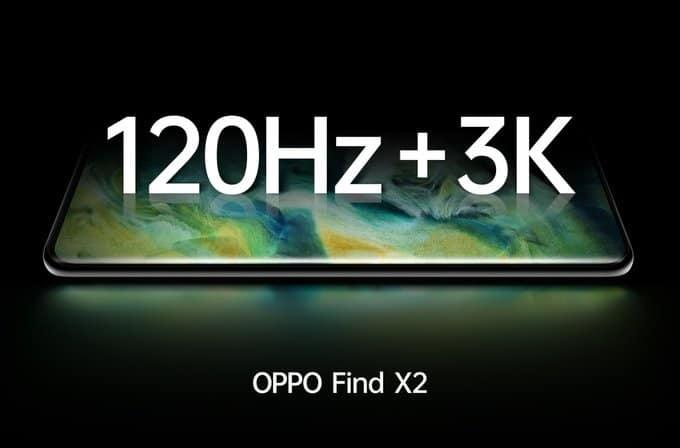 Oppo Find X2 120Hz 3K