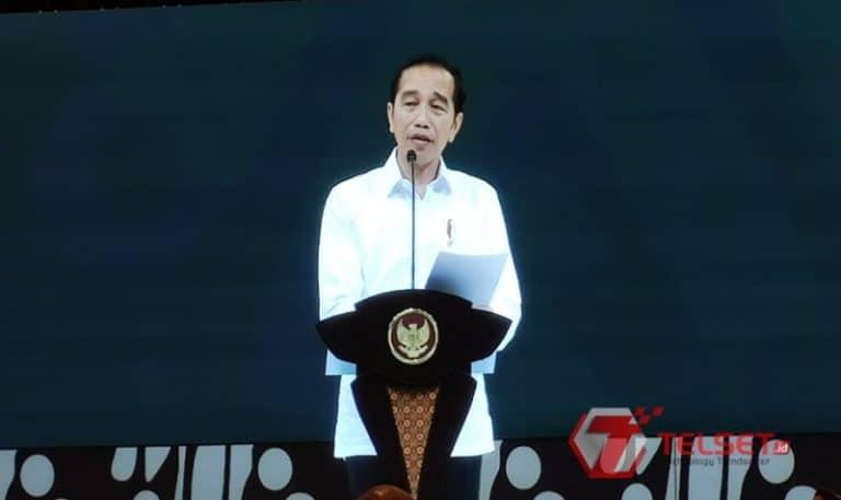 Di Acara Microsoft, Jokowi Curhat Ditawari Obat Penggemuk Badan