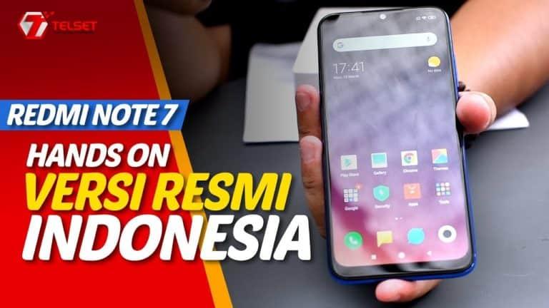 REDMI NOTE 7 | Akhirnya! Hands On versi Resmi Indonesia (2019)