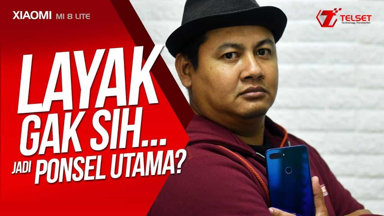 REVIEW XIAOMI MI 8 LITE : Layak Gak sih...Jadi Ponsel Utama?