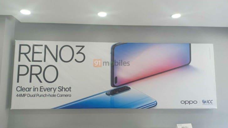 Oppo Reno3 Pro Versi India