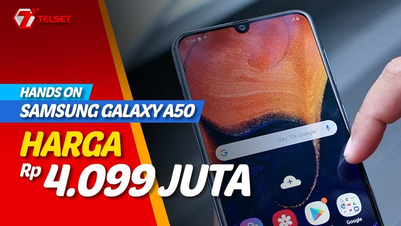 SAMSUNG GALAXY A50 Unboxing   Harga Rp 4.099.000