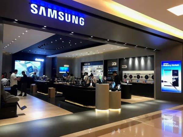 Toko Samsung tutup