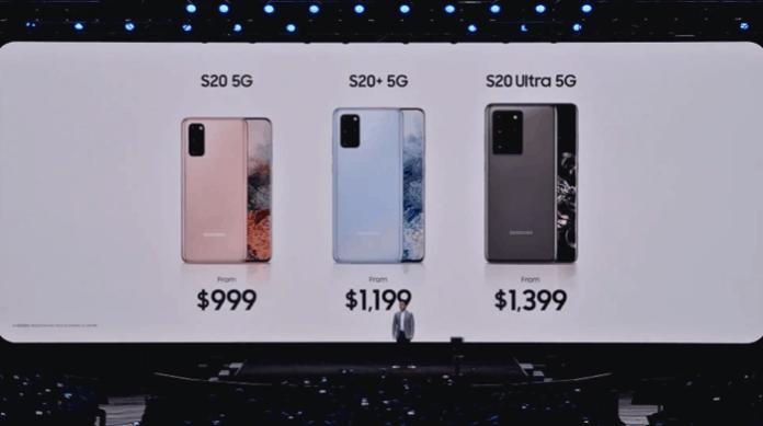 Harga Samsung S20