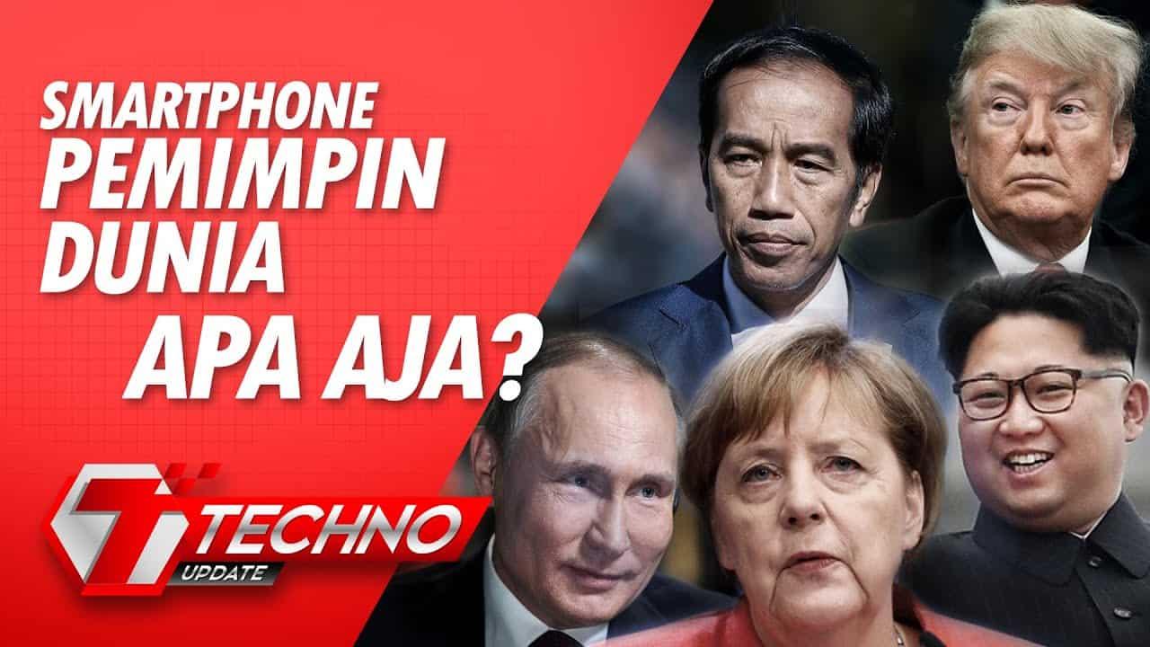 Smartphone Pemimpin Dunia, Apa aja?