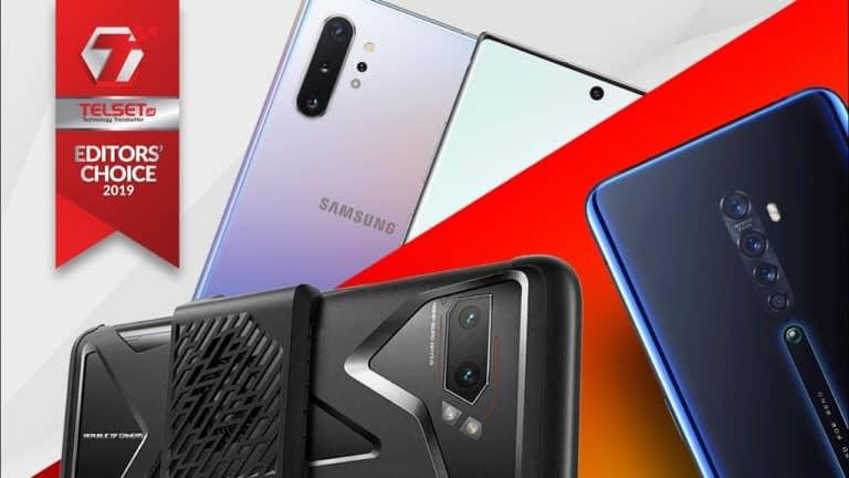 TELSET EDITORS CHOICE 2019: Jawara Smartphone Terbaik 2019