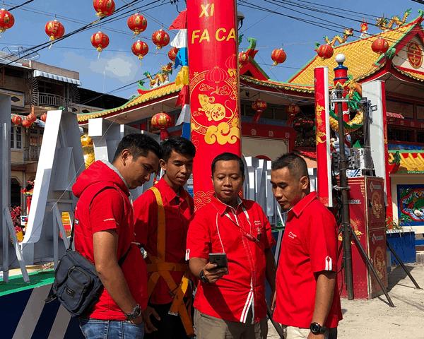 Telkomsel Dukung Perayaan Cap Go Meh di Singkawang