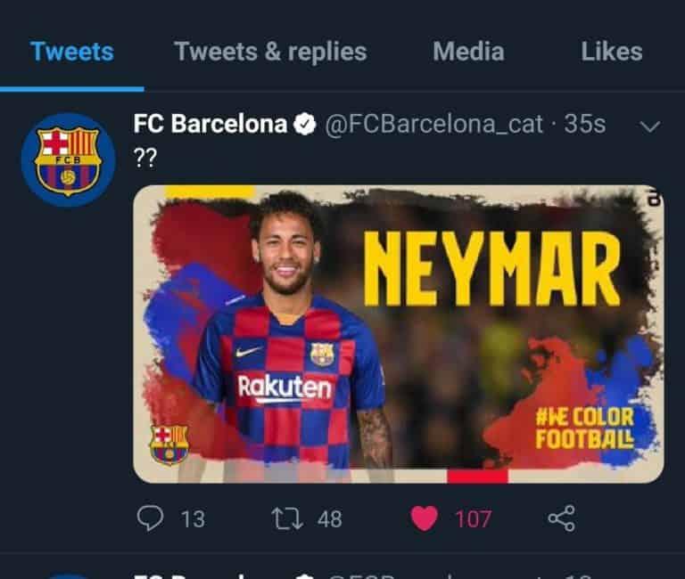 Akun Twitter FC Barcelona dan Komite Olimpiade Diretas Hacker