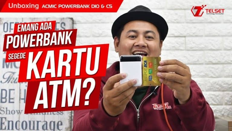 UNBOXING ACMIC D10 & C5: Powerbank Segede Kartu ATM?
