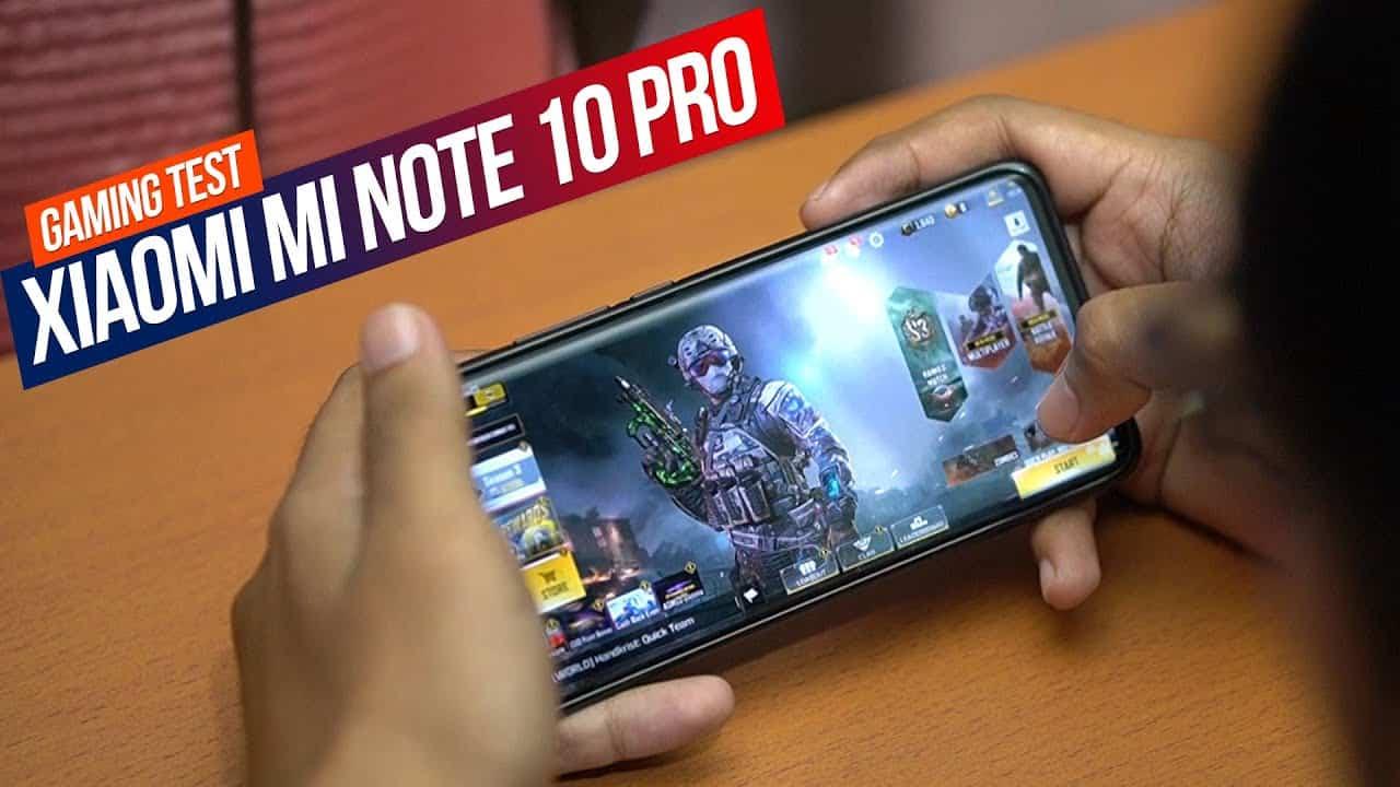 XIAOMI MI NOTE 10 PRO GAMING TEST | Mobile Legend, PUBG,  COD Mobile