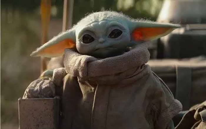 "Action Figure Baby Yoda ""The Mandalorian"" Dijual Rp 4,8 Jutaan"