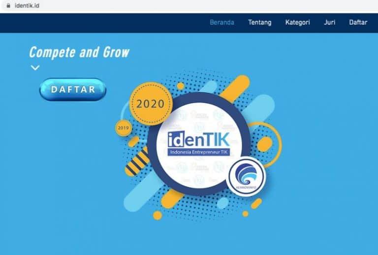 Kominfo Gelar Seleksi Nasional TIK 2020, Ini Kategorinya