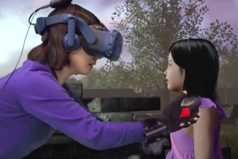 Teknologi VR Pertemukan Ibu dan Putrinya yang Meninggal