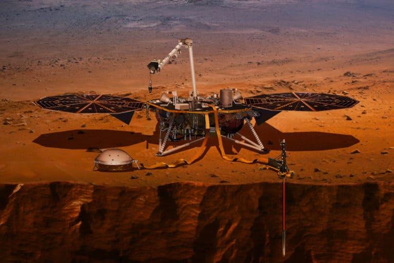 NASA Sebut Alien Bersembunyi di Gua-gua Kuno Mars
